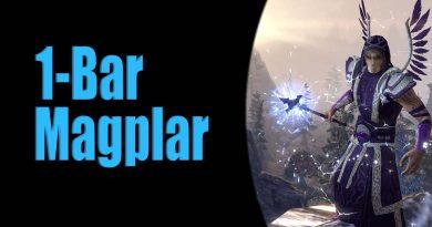 ESO 1-Bar Magicka Templar Build for Solo PvE