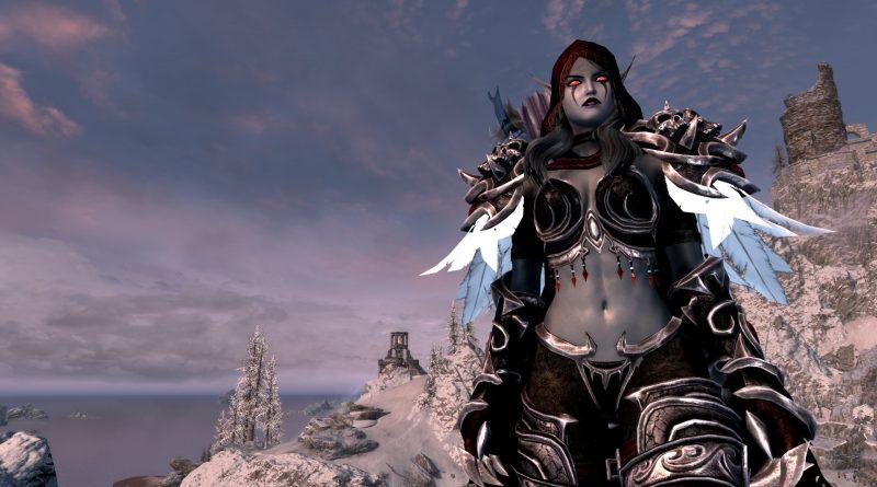 Skyrim Character Build: The Dark Lady – Sylvanas Windrunner Warcraft Crossover Build