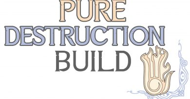 Skyrim Build: Pure Destruction – Mod List