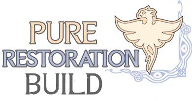 Skyrim Build: Pure Restoration – Mod List
