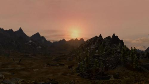 Plains at Sunset