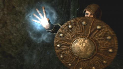 Skyrim Shield Mage