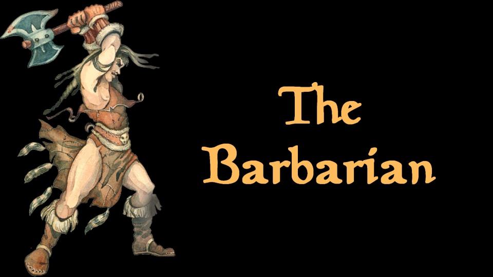 Skyrim Build: The Barbarian – Oblivion Class Restoration